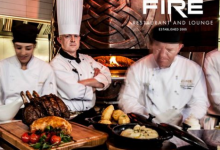 SUNDAYS AT FIRE RESTAURANT DUBLIN