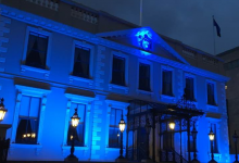 Blue Light Mansion House Dublin